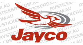 JAYCO 2006 DESTINY LOGO DRIVER and/or FRONT & BACK RED
