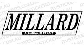 MILLARD ALUMINIUM FRAME LOGO