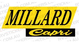 MILLARD YELLOW CAPRI LOGO