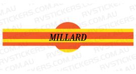 MILLARD STONE SHIELD