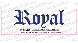 VISCOUNT ROYAL LOGO
