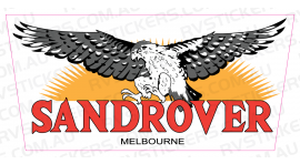 SANDROVER DECAL