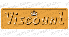 VISCOUNT CROWN LOGO