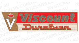 VISCOUNT DURALVAN GOLD LOGO