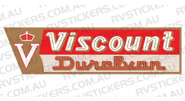 VISCOUNT DURALVAN WHITE LOGO
