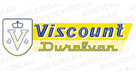 VISCOUNT DURALVAN YELLOW LOGO