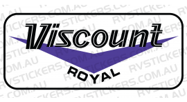 VISCOUNT ROYAL BLUE LOGO