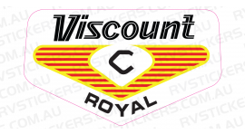 VISCOUNT ROYAL 1970s LOGO