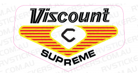 VISCOUNT SUPREME 1970s LOGO