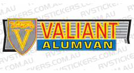 VISCOUNT VALIANT ALUMVAN LOGO
