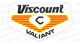 VISCOUNT VALIANT 1970s LOGO